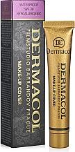 Тональный крем с повышенными маскирующими свойствами - Dermacol Make-Up Cover — фото N1