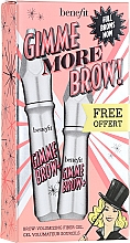 Духи, Парфюмерия, косметика Набор - Benefit Gimme More Brow! (brow/gel/3g+brow/gel/1.5g) (3 -Neutral Light Brown)