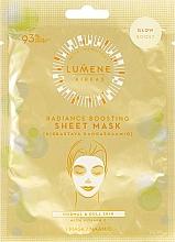 Духи, Парфюмерия, косметика Тканевая маска-сияние для лица - Lumene Kirkas Radiance Boosting Sheet Mask