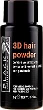 Духи, Парфюмерия, косметика Объемная пудра для волос - Black Professional Line 3D Hair Powder