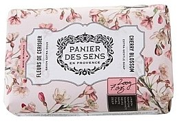 Духи, Парфюмерия, косметика Мыло - Panier Des Sens Extra Gentle Natural Soap with Shea Butter Cherry Blossom