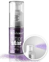 Духи, Парфюмерия, косметика Сыпучие блестки для декора - Silcare Glitter Star