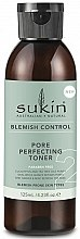 Духи, Парфюмерия, косметика Тоник для лица - Sukin Blemish Control Pore Perfecting Toner