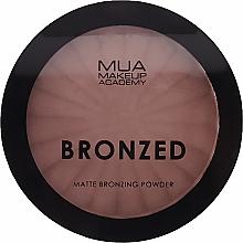 Духи, Парфюмерия, косметика Бронзирующая пудра для лица - MUA Bronzed Matte Bronzing Powder