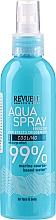 Духи, Парфюмерия, косметика Спрей для лица и тела с экстрактом бурых водорослей - Revuele Face&Body Revitalizing Aqua Spray