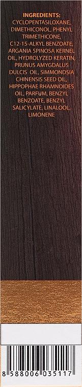 """Масло для волос """"Восстановление и Защита"""" с маслом арганы и кератином - Dr. Sante Argan Hair — фото N3"""