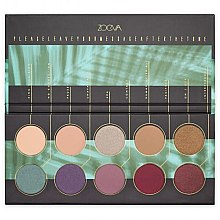 Духи, Парфюмерия, косметика Палетка теней для век - Zoeva Offline Eye Shadow Palette