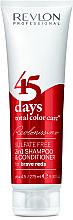Духи, Парфюмерия, косметика Шампунь-кондиционер ярко-красный - Revlon Professional Revlonissimo 45 Days Brave Reds