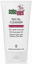 Духи, Парфюмерия, косметика Очищающее средство для нормальной и сухой кожи - Sebamed Facial Cleanser For Normal & Dry Skin