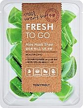Духи, Парфюмерия, косметика Освежающая тканевая маска с алоэ - Tony Moly Fresh To Go Mask Sheet Aloe
