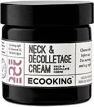 Духи, Парфюмерия, косметика Крем для шеи и зоны декольте - Ecooking Neck & Decolletage Cream