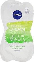 Духи, Парфюмерия, косметика Маска-пленка для лица - Nivea Urban Skin Peel Off Detox Mask