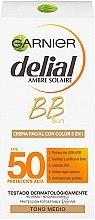 Духи, Парфюмерия, косметика Солнцезащитный ВВ-крем - Garnier Delial Ambre Solaire BB Cream SPF50