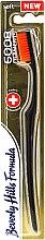 Духи, Парфюмерия, косметика Мягкая зубная щётка, оранжевая - Beverly Hills Formula 6008 Filament Multi-Colour Toothbrush