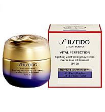 Духи, Парфюмерия, косметика Глобальный омолаживающий крем SPF 30 - Shiseido Vital Perfection Uplifting and Firming Day Cream SPF 30