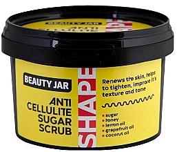 Духи, Парфюмерия, косметика Антицеллюлитный сахарный скраб для тела - Beauty Jar Shape Anti-Cellulite Sugar Scrub