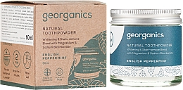 Духи, Парфюмерия, косметика Натуральный зубной порошок - Georganics English Peppermint Natural Toothpowder