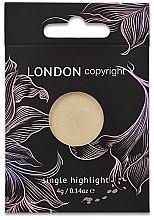 Духи, Парфюмерия, косметика Хайлайтер для лица - London Copyright Magnetic Face Powder Highlight (Moonshine)
