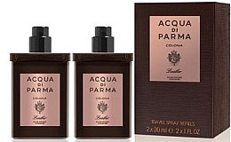 Духи, Парфюмерия, косметика Acqua di Parma Colonia Leather Eau de Cologne Travel Spray Refill - Одеколон