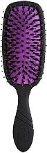 Духи, Парфюмерия, косметика Расческа для блеска волос, черная - Wet Brush Pro Shine Enhancer Blackout