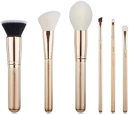 Набор кистей для макияжа, T419, 6шт - Jessup — фото N1
