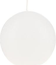 Духи, Парфюмерия, косметика Ароматическая круглая свеча, белая, 80 мм - Bolsius Ball Candle Rustic