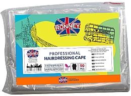 Духи, Парфюмерия, косметика Одноразовые парикмахерские накидки - Ronney Professional Hairdressing Cape