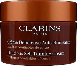 Духи, Парфюмерия, косметика Крем - Clarins Delicious Self Tanning Cream