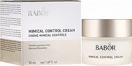 Духи, Парфюмерия, косметика Крем-контроль мимических морщин - Babor Mimical Control Cream
