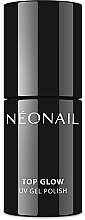 Духи, Парфюмерия, косметика Топ для гель-лака - NeoNail Professional UV Gel Polish Top Glow Sparkling