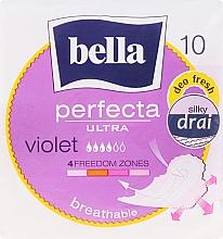 Духи, Парфюмерия, косметика Прокладки Perfecta Violet Deo Fresh Soft Ultra, 10шт - Bella