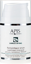 Духи, Парфюмерия, косметика Сыворотка для глаз - APIS Professional Express Lifting Brightening Filling Wrinkle Serum With Tens UP