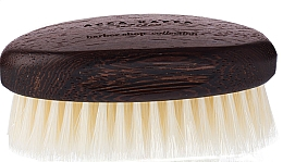 Духи, Парфюмерия, косметика Щетка для бороды, белая - Acca Kappa Barber Shop Collection