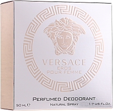 Духи, Парфюмерия, косметика Versace Eros Pour Femme - Дезодорант