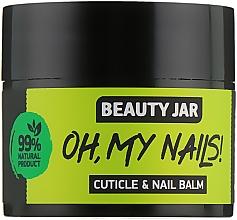 "Духи, Парфюмерия, косметика Бальзам для ногтей и кутикулы ""Oh My Nails!"" - Beauty Jar Cuticle&Nail Balm"