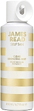 Духи, Парфюмерия, косметика Прозрачный спрей-автозагар для лица и тела - James Read Self Tan Clear Bronzing Mist Face & Body