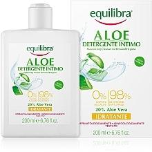 Духи, Парфюмерия, косметика Увлажняющий гель для интимной гигиены - Equilibra Aloe Moisturizing Cleanser For Personal Hygiene