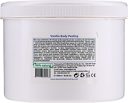"Скраб для тела ""Ваниль"" - Hristina Professional Vanilla Body Peeling — фото N2"