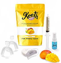 "Духи, Парфюмерия, косметика Набор для отбеливания зубов ""Манго"" - Keeth Mango Teeth Whitening Kit"