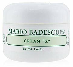 Духи, Парфюмерия, косметика Крем для сухой кожи - Mario Badescu Cream X