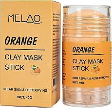 """Духи, Парфюмерия, косметика Маска-стик для лица """"Orange"""" - Melao Orange Clay Mask Stick"""