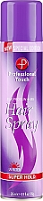 Духи, Парфюмерия, косметика Лак для волос - Professional Touch Silk Protein + B5 Super Hold Hair Spray