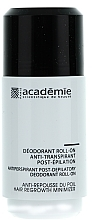 Духи, Парфюмерия, косметика Дезодорант антиперспирант после эпиляции - Academie Acad'Epil Deodorant Roll-on Specifique Post