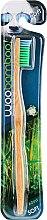 Духи, Парфюмерия, косметика Зубная щётка мягкой степени жесткости, зеленая - Woobamboo Adult Standard Handle Toothbrush Soft