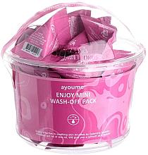 Духи, Парфюмерия, косметика Маска с каламиновой пудрой для жирной кожи лица - Ayoume Enjoy Mini Wash-Off Pack