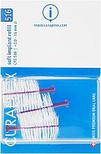 Духи, Парфюмерия, косметика Набор ершиков межзубных для имплантов, CPS 516, 3шт - Curaprox Soft Implant