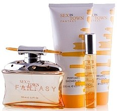 Духи, Парфюмерия, косметика Concept V Design Sex Town Fantasy Women - Набор (edp/100ml+b/l/200ml+sh/g/200ml+edp/20ml)