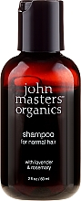 "Духи, Парфюмерия, косметика Шампунь для волос ""Лаванда и розмарин"" - John Masters Organics Lavender Rosemary Shampoo (мини)"