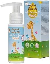 Духи, Парфюмерия, косметика Органическое персиковое масло для малышей с инка инчи - Azeta Bio Organic Baby Peach Oil Inca Inchi
