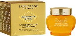 Духи, Парфюмерия, косметика Очищающий бальзам для лица - L'Occitane Immortelle Divine Cleansing Balm